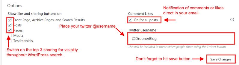 How to set up WordPress social shares