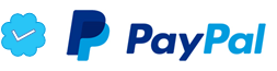 Trusted payments with PayPal.
