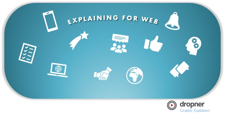"WRITING AN INFOGRAPHIC PORTRAYING ""EXPLAINING FOR THE WEB"", WAYS TO TEACH ONLINE."