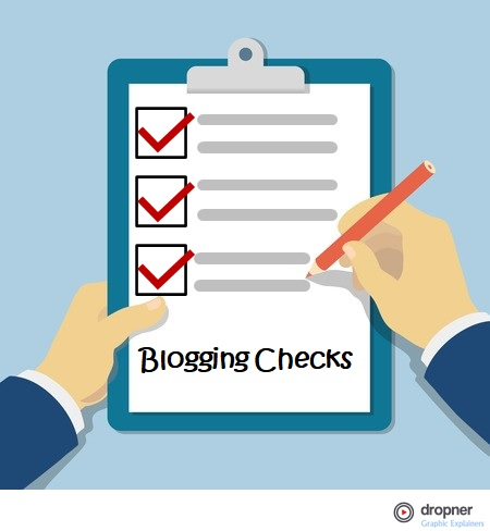 Blogging Checks