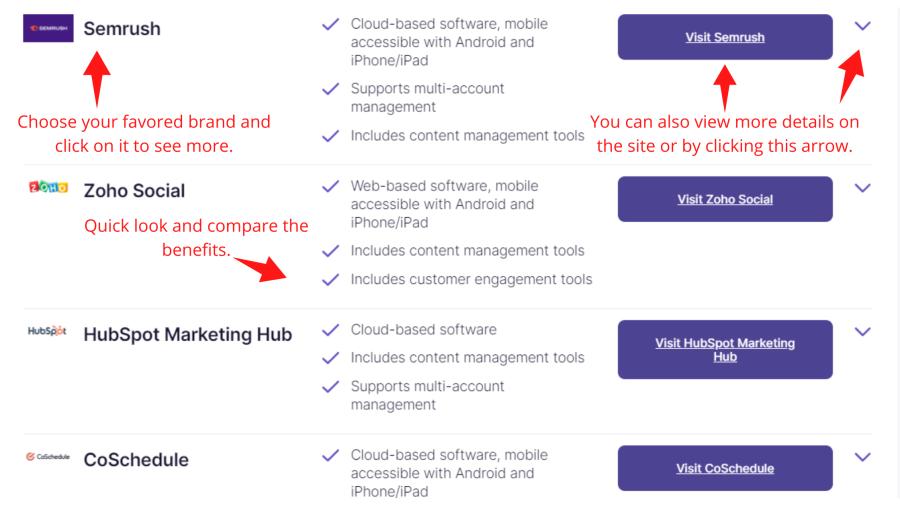 Best software guide from digital.com